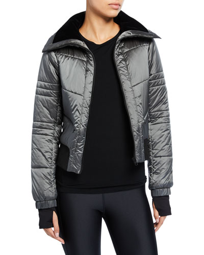 Bella Cropped Puffer Jacket