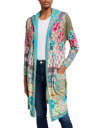 Biza Hooded Long Cardigan