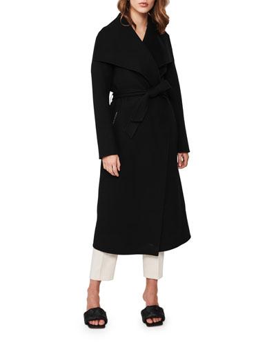 Mai Long Wool Wrap Coat