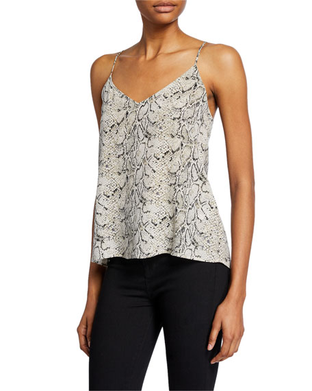 Equipment Layla Python-Printed Camisole