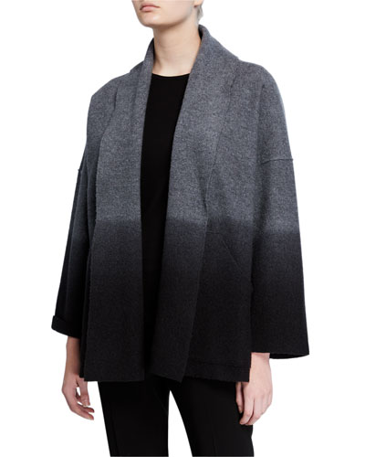 Petite Ombre Boiled Wool Jacket
