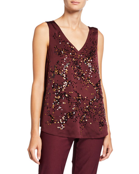 NIC+ZOE In Sequence V-Neck Tank