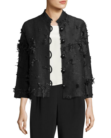 Caroline Rose Petite Made in the Shade Jacket, Black