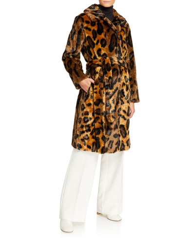 Irina Leo Faux Fur Coat