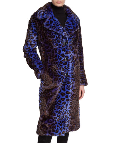 Fanny Faux Fur Long Coat