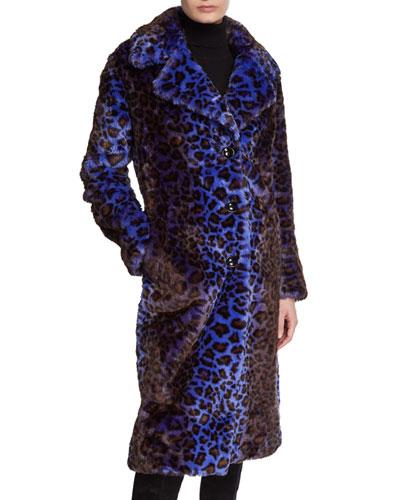 Fanny Faux Fur Long Coat