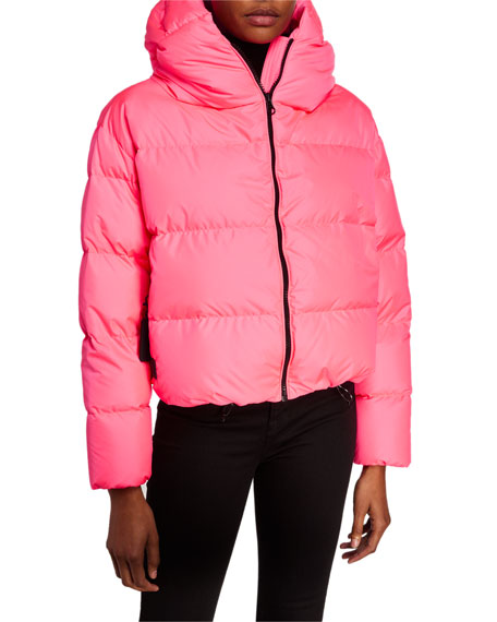 Bacon Cloud Oversized Short Down Jacket
