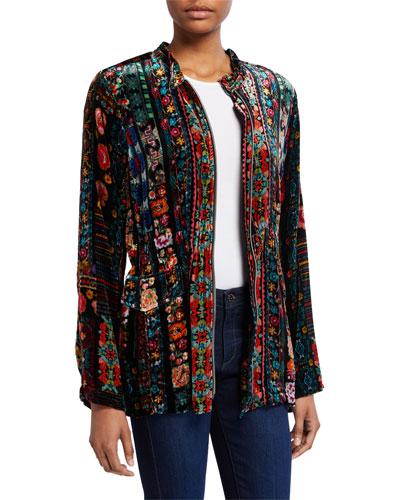 6b2f29dc3b Velvet Pocket Jacket | Neiman Marcus