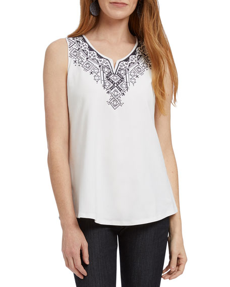 NIC+ZOE Patio Sleeveless Top