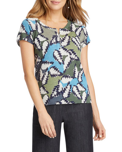 Plus Size Canopy Short-Sleeve Tee