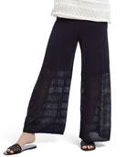 NIC+ZOE Honeymoon Wide-Leg Pull-On Pants