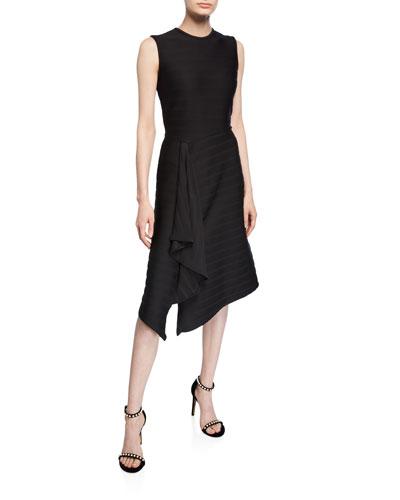 Sabina Striped Sleeveless Dress