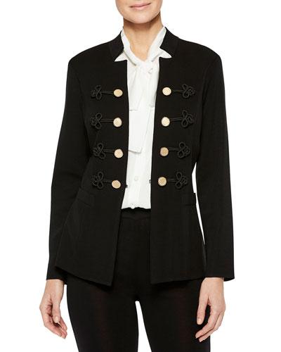 Button & Soutache Jacket
