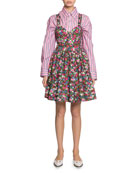 Marc Jacobs Floral-Print Poplin Sundress
