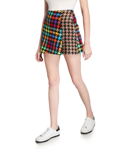 Darma Combo High-Waist Crossover Skirt