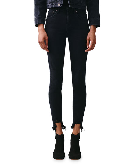 AGOLDE Sofie High-Rise Ankle Jeans