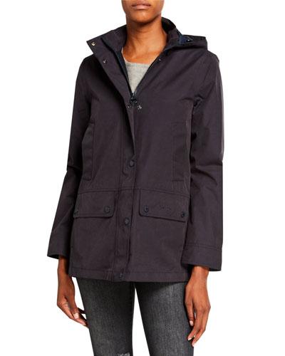 Bruads Waterproof Detachable-Hood Jacket