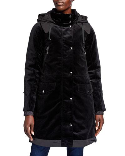 Silvia Bonded 2-Layer Cotton Coat