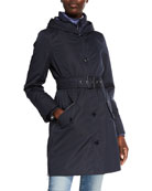 Bogner Kaja Short Coat w/ Down-Fill Storm Tab