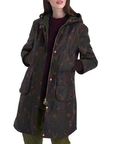 Feather Wood Warbler Wax Jacket