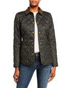 Barbour Helvellyn Box-Quilt Collared Jacket
