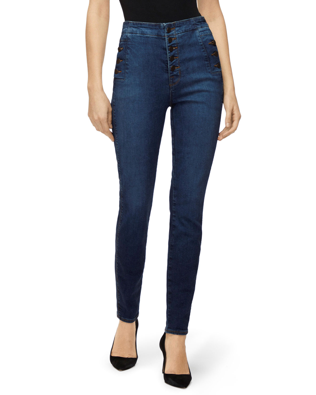 J Brand Jeans NATASHA SKY HIGH SKINNY JEANS