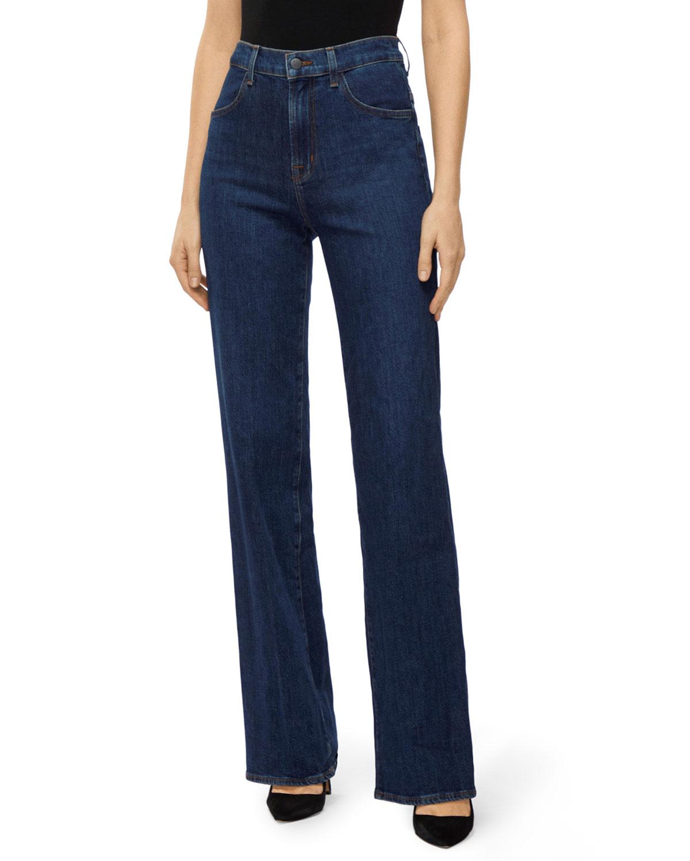 J Brand Jeans JOAN HIGH-RISE WIDE-LEG JEANS
