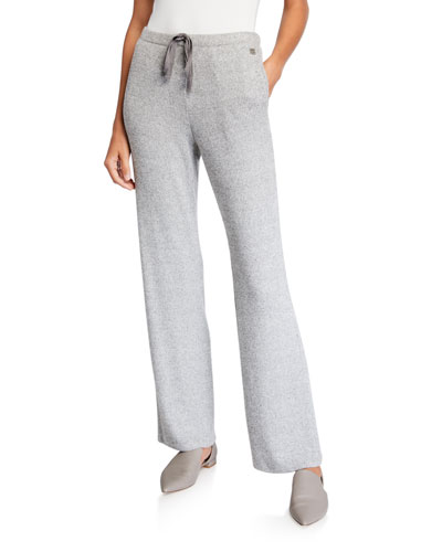 Ulla Speckled Drawstring Pull-On Pants