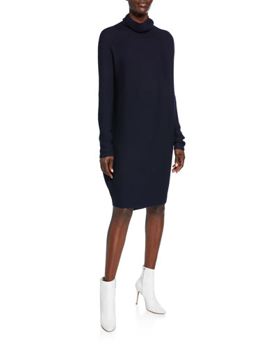 Koha Knitted Turtleneck Sweater Dress