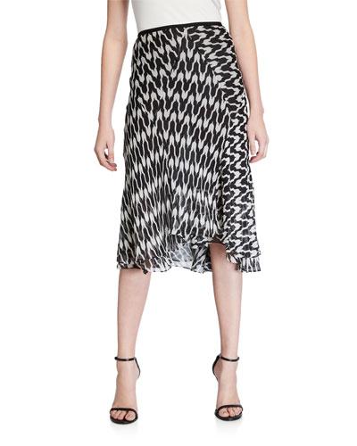 Debra Printed Skirt