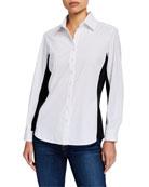 Finley Casey Combo Solid Silky Poplin Shirt