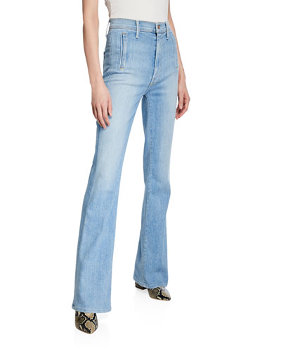 The Drama High-Rise Flare Jeans
