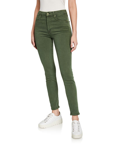 High-Waist Looker Ankle Skinny Jeans
