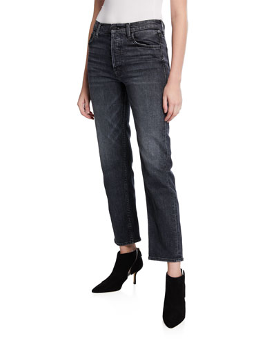 The Tomcat Ankle Straight-Leg Jeans