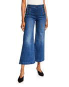 MOTHER The Sailor Roller Ankle Flare Jeans