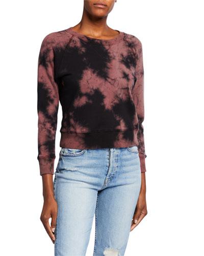 The Shrunken Square Tie-Dye Sweatshirt