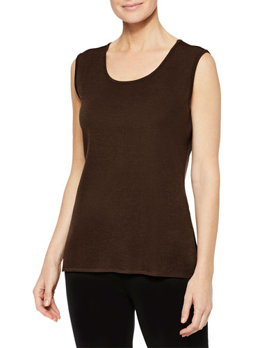 Knit Scoop-Neck Tank