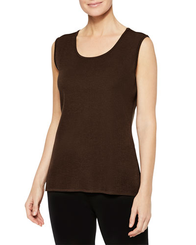 Plus Size Scoop-Neck Tank