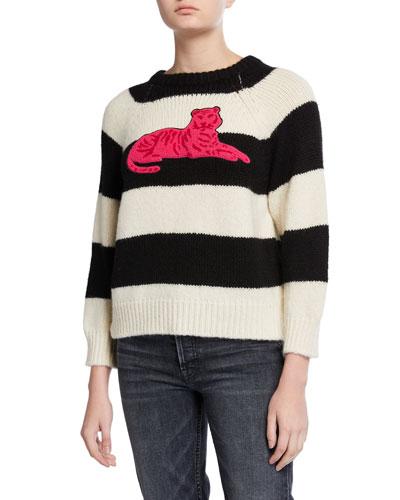 The Boat Square Striped Sweater