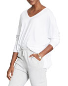 Frank & Eileen Tee Lab Deep V-Neck Long-Sleeve