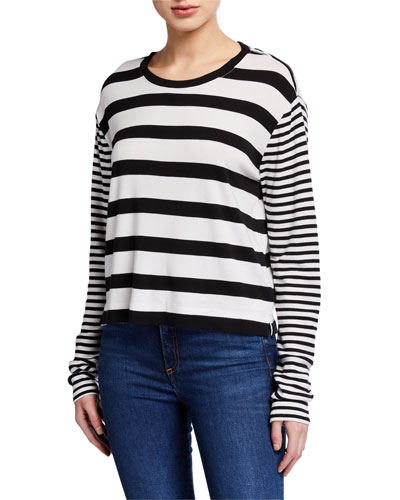 Cody Mixed Stripe Top