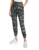 Splendid Boardwalk Camo-Print Jogger Pants