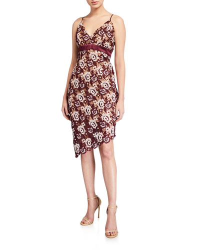 Dalia Lace Cocktail Dress