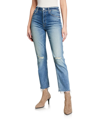 The Tomcat Ankle Fray Jeans