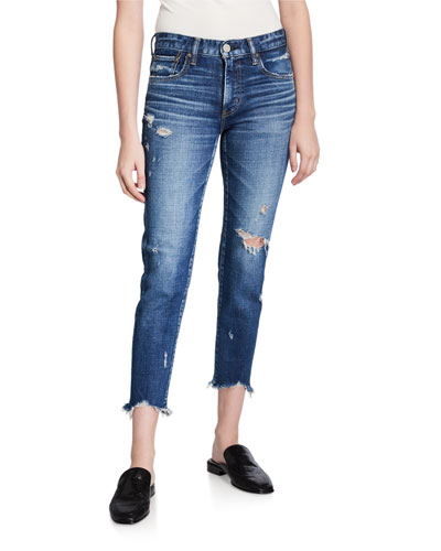 Glendele Cropped Skinny Jeans