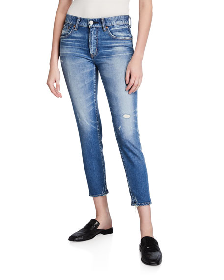 MOUSSY VINTAGE Velma Cropped Skinny Jeans