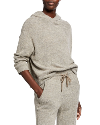 Textured Hoodie Sweater