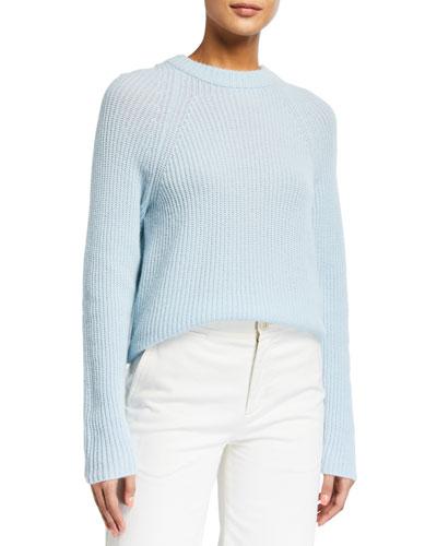 Raglan Sleeve Hoodie Sweater
