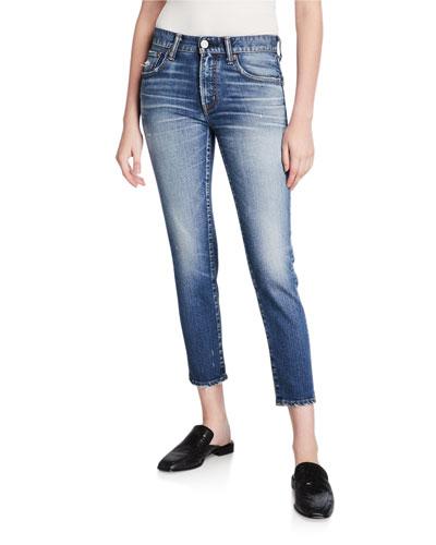 Sundance Dark-Wash Skinny Jeans