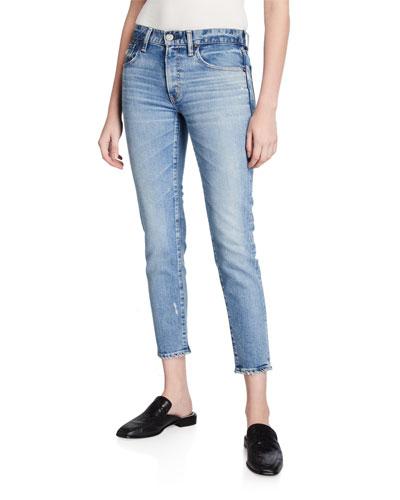 Edmond Medium-Wash Skinny Jeans